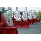 Tajfun Single-Drum Logging Winches, Electro-Hydraulic and Mechanical Controls